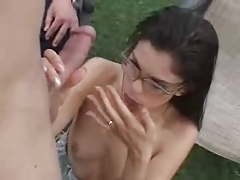 Watching His Skinny Wife Assfucked F70