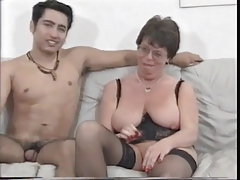 Mature French Housewife Fucks