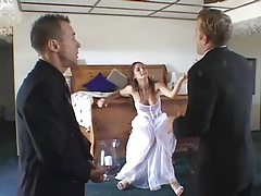 Bride Starts Marriage by Fucking TWO Read Rate Comment