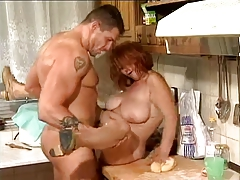 SEXY GUY FUCKS GRANNY