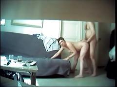 Hot Brunette Cheating Wife Caught On Hidden Cam