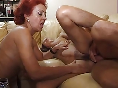 Sexy Matures And Lucky Boy