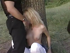 Susanna Sweet with two guys