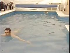 Bisex Play At The Resort Pool