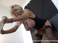 Wifey Fucked By Big Black Cock Then Swallows Cum