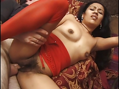Indian Hottie Banged On The Couch