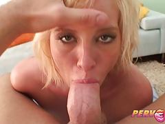 Pervcity Blonde Slut Face Fucked