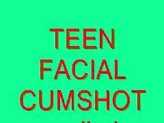 Teens Facial Cumshot Compilation