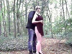 Stranger Fucks Wife In Woods