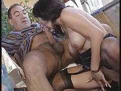 Pretty Italian Woman Rear Fucked By Older Man