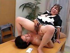 Japanese Bbw Mature Maid