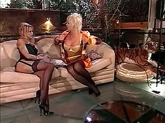 Two Mature Women And Dildo