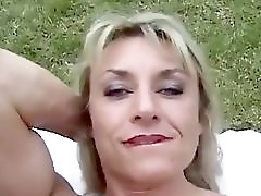 Mature Muscled With Big Clit Outdoors