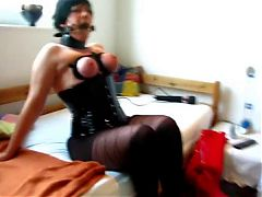 Heels And More Bondage Mouthfuck