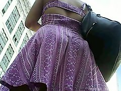 Compilation Of City Upskirts In July I