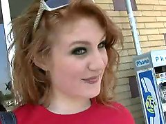 Redhead Lucy Fire Interracial