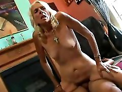 Grannie Skinny Blonde Hairy And Crazy For Sex