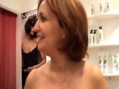 Sexy Mature Hairdresser