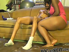 Black Bf Oils Her Gf S Sexy Ass And Fuck