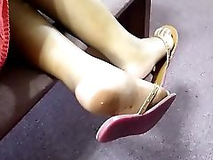 Friend S Candid Beautiful Ebony Feet At Church 5