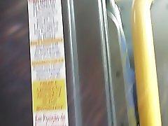 Bucetuda Raspando A Xoxota No Bus