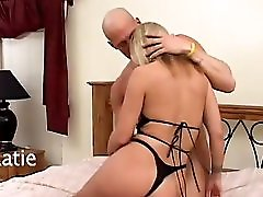 Horny Milf Gets Fucked In The Ass And Swallows A Big Load Pink Kitty