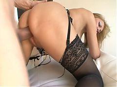 Sexy MILF In Lingerie Fucks Good