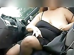 Fat Woman Smoking And Masturbating