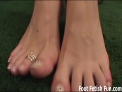 Worship My Feet Before I Give You A Footjob