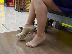 Feet In Nylon Video 13