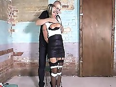 Adara Tied Up In Sex Dungeon