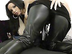 Julia Herz In Sexy Latex