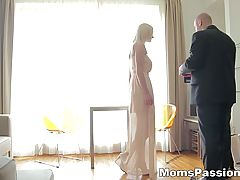 Moms Passions First Lovemaking With Busty Mom