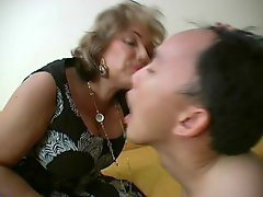 French Mature Mistress And Her Slave