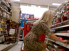 Blonde Milf Upskirt