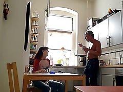 Eine Kollegin Besucht Mich Und Ich Ziehe Mich Nackt Aus