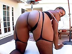 Thick Black Butts Wit Busted Nut 4