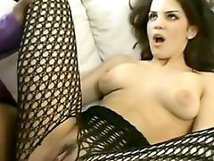 Norwegian Girl Black Fishnet