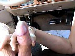 Mature Head #112 In The Car