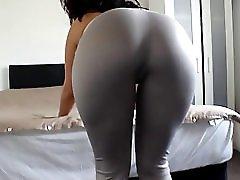 Big Ass Girl Spandex Ass Cumshot Big Booty