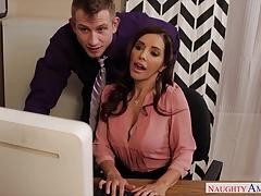 Sexy Francesca Le Fuck In The Office
