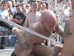 Naked Wrestling In Public