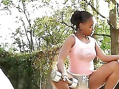 Horny Black Girls Scissoring