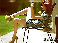 Smoking Voyeur