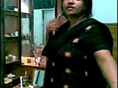 Busty Indian Aunty's Big Boobs Sucking By Neighbor