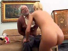 Teen And Grandpa