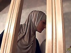 Arab Maid Is Deeply Ass Fucked