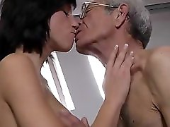 Weakling 72 Old Man Assfuck Deep Skinny Tall Brunette Teen