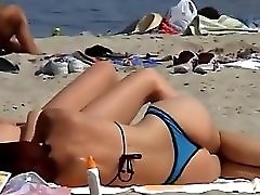 Spying On Hot Girls On The Beach