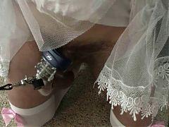 Maid Shocked And Punished
